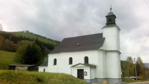 kostel Narození Panny Marie zroku 1720